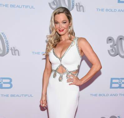 Jennifer Gareis attends CBS's 'The Bold And The Beautiful' 30th Anniversary Party at Clifton's Cafeteria on March 18, 2017, in Los Angeles, California