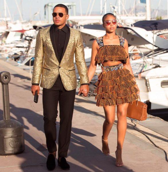 Lori Harvey walking holding hand with her former boyfriend Memphis Depay