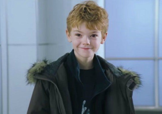 Thomas Brodie-Sangster's childhood picture