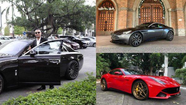 Derek Ramsay's car collection