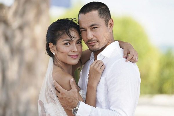 Derek Ramsay with his ex-wife Mary Christine Jolly