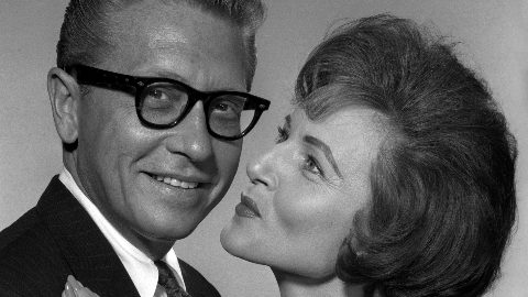 Betty White with her late husband Allen Ludden