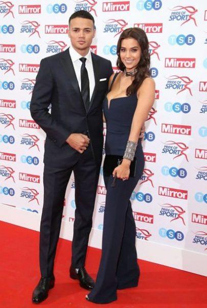 Ellie Penfold with her husband Jermaine Jenas