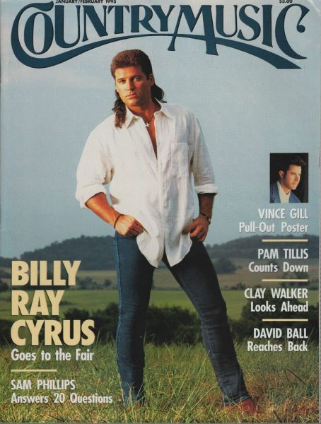 Caption : Corrina's father Vince Gill in the Magazine
