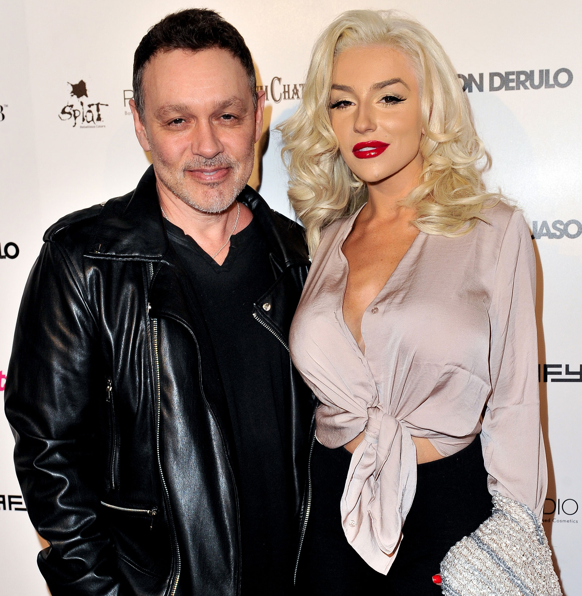 Doug with his ex-wife Courtney Stodden