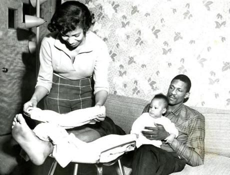 Bill with his family