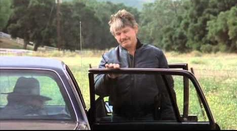 Caption : Zuleika Bronson's Late father Charles Bronson with his car
