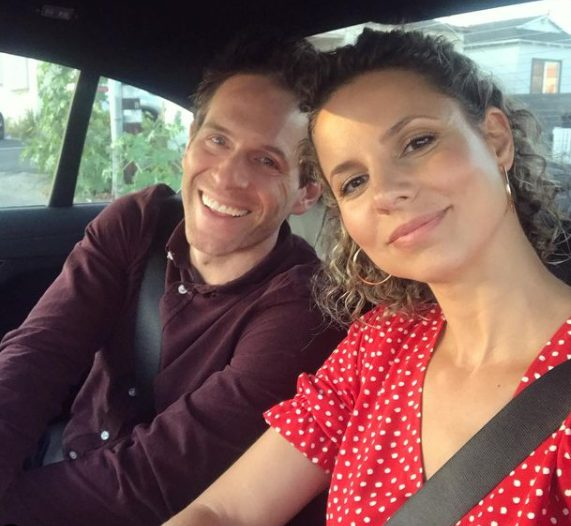 Jill Latiano clicking selfie with her husband Glenn Howerton