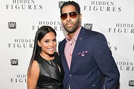 Rickey Smiley with hisex- wife
