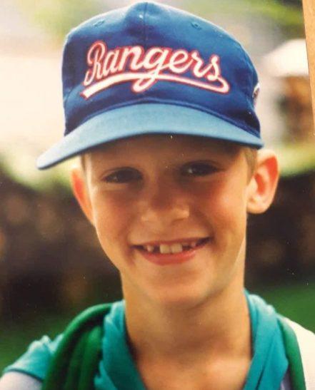 Chris Ramsay childhood photo