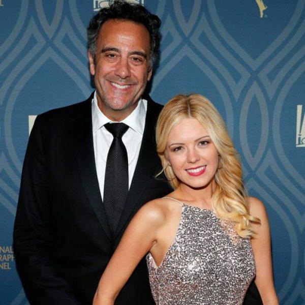 Brad Garrett with his wife IsaBeall Quella