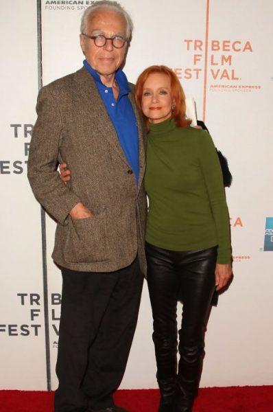 Swoosie Kurtz with her co-actor, John Guare