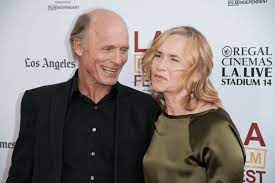Amy Madigan with her lover Ed Harris