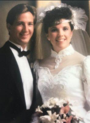 Late John Andretti with his beautiful wife Nancy Andretti