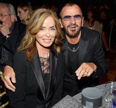 Barbara Bach with her husband Ringo Starr