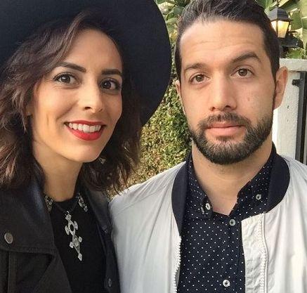 Bayardo de Murguia with his lover Gabriela Fresquez