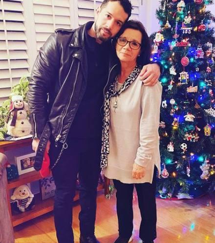 Bayardo de Murguia with his mother