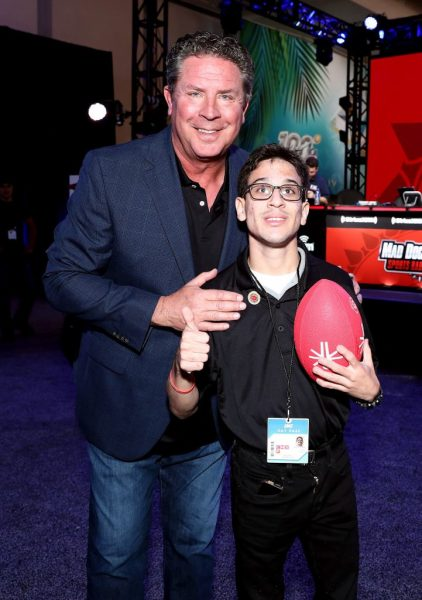 Dan Marino with his son