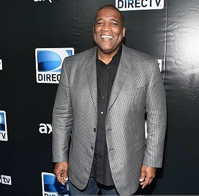 Curt Menefee while attending some award functions