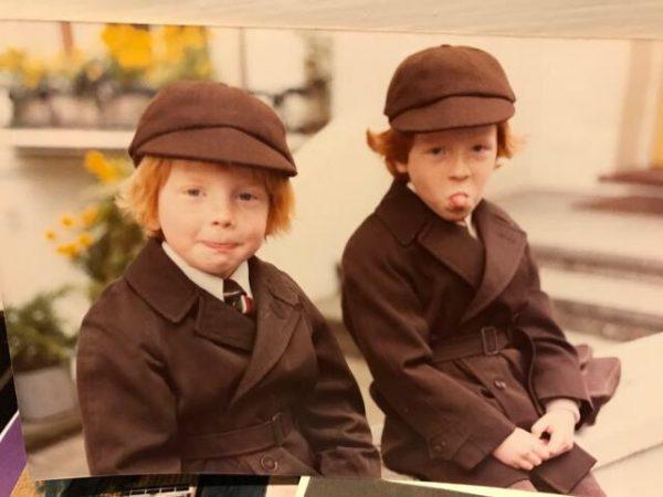 Damian Lewis childhood photo