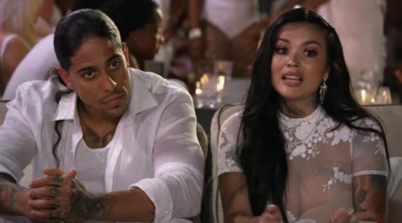 Katherine Flores with her ex-boyfriend, Eddie Soto