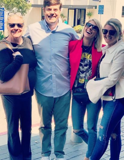 Michelle Beisner Buck with her family