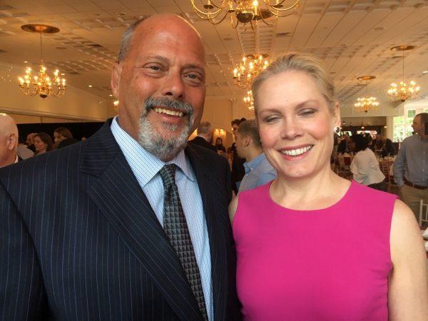 Chris McKendry with her husband Eduardo Andrade