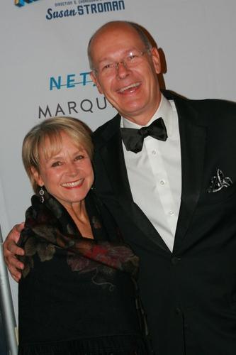 Andrea Joyce with her husband Harry Smith