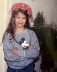 Heidi Androl childhood photo