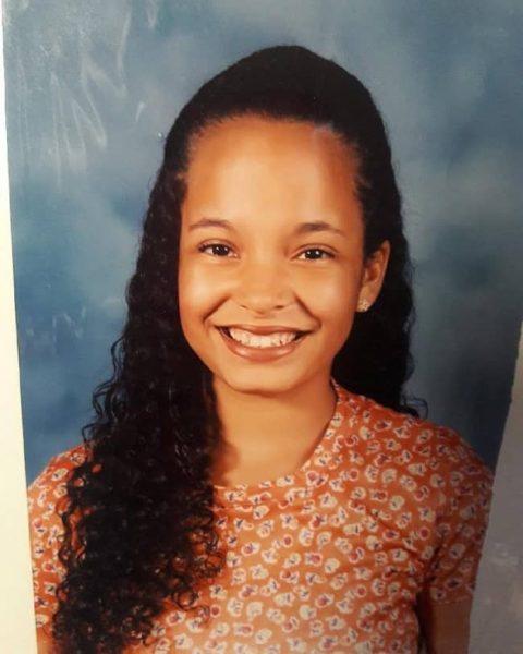 Elle Duncan childhood photo