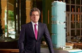 Jeffrey Soffer posing for the photo
