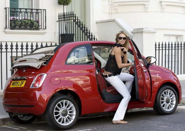 Jeffrey Soffer's ex-wife Elle Macpherson Macpherson with the car