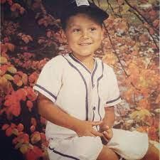 Derek Jeter's childhood photo
