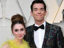 John Mulaney with his wife Anna Marie Tendler