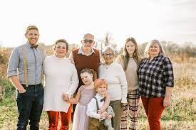 Becky Dixon's family photo