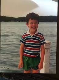 John Mulaney's chilhood photo